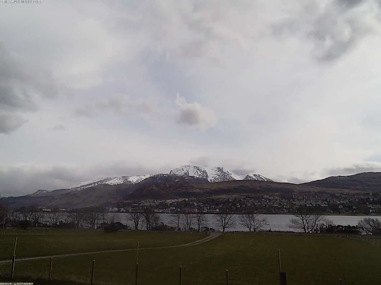Ben Nevis and Fort William Webcam
