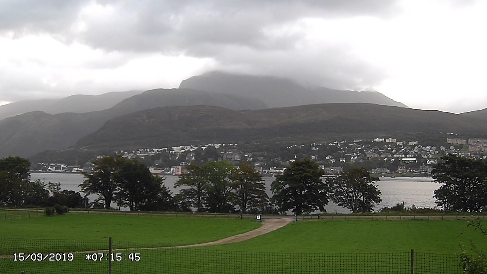 Latest Ben Nevis Webcam Image